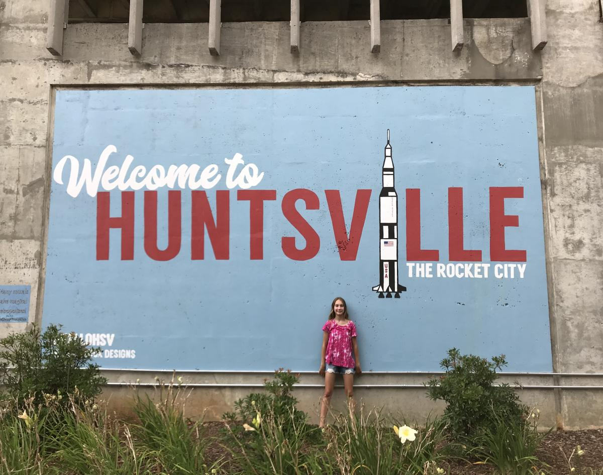 carley huntsville mural