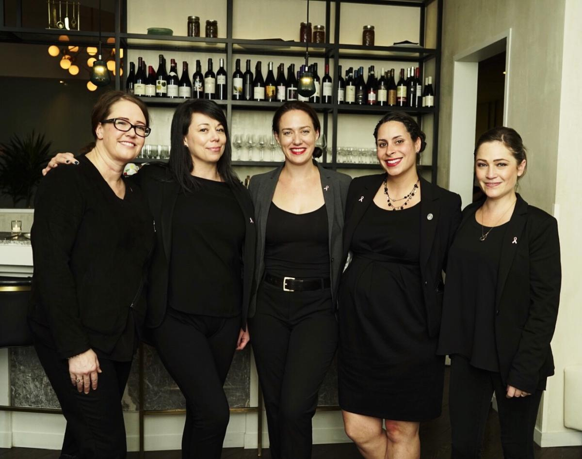 Women of Wine 2016 Cafe Spiaggia