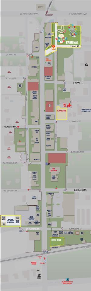 MSF Carnival Map