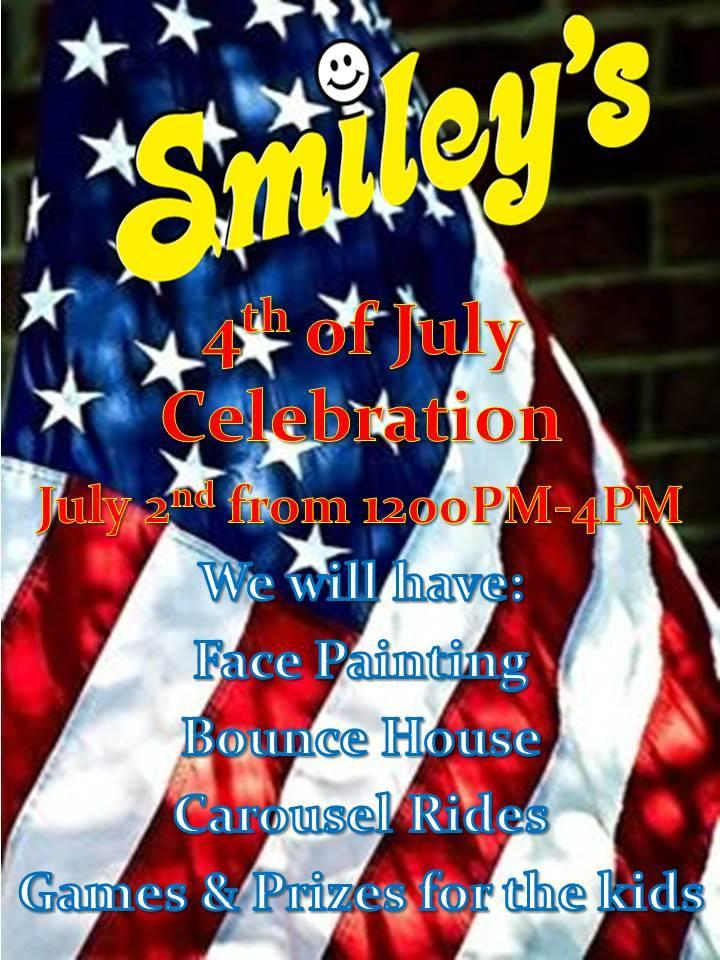 Smiley's July 4 Celebration