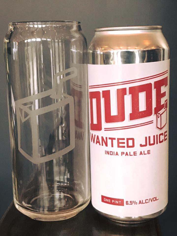 Dude Wanted Juice - Yellow Bridge