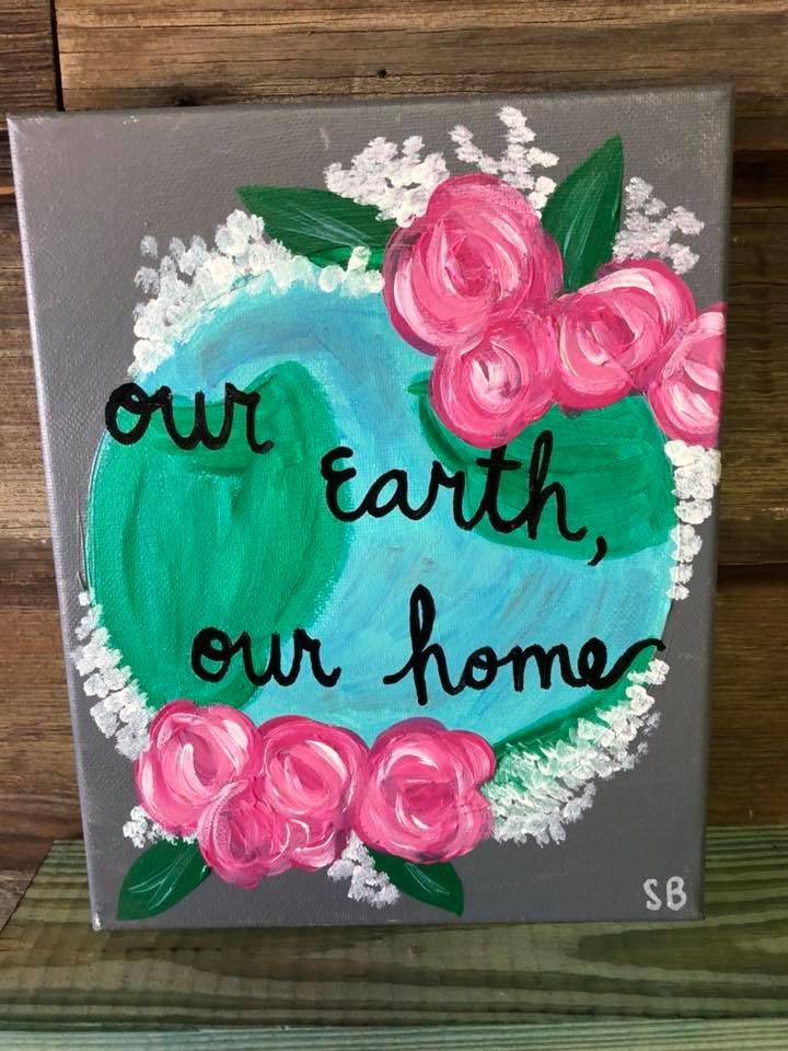 Mod Podge Mama Earth Day