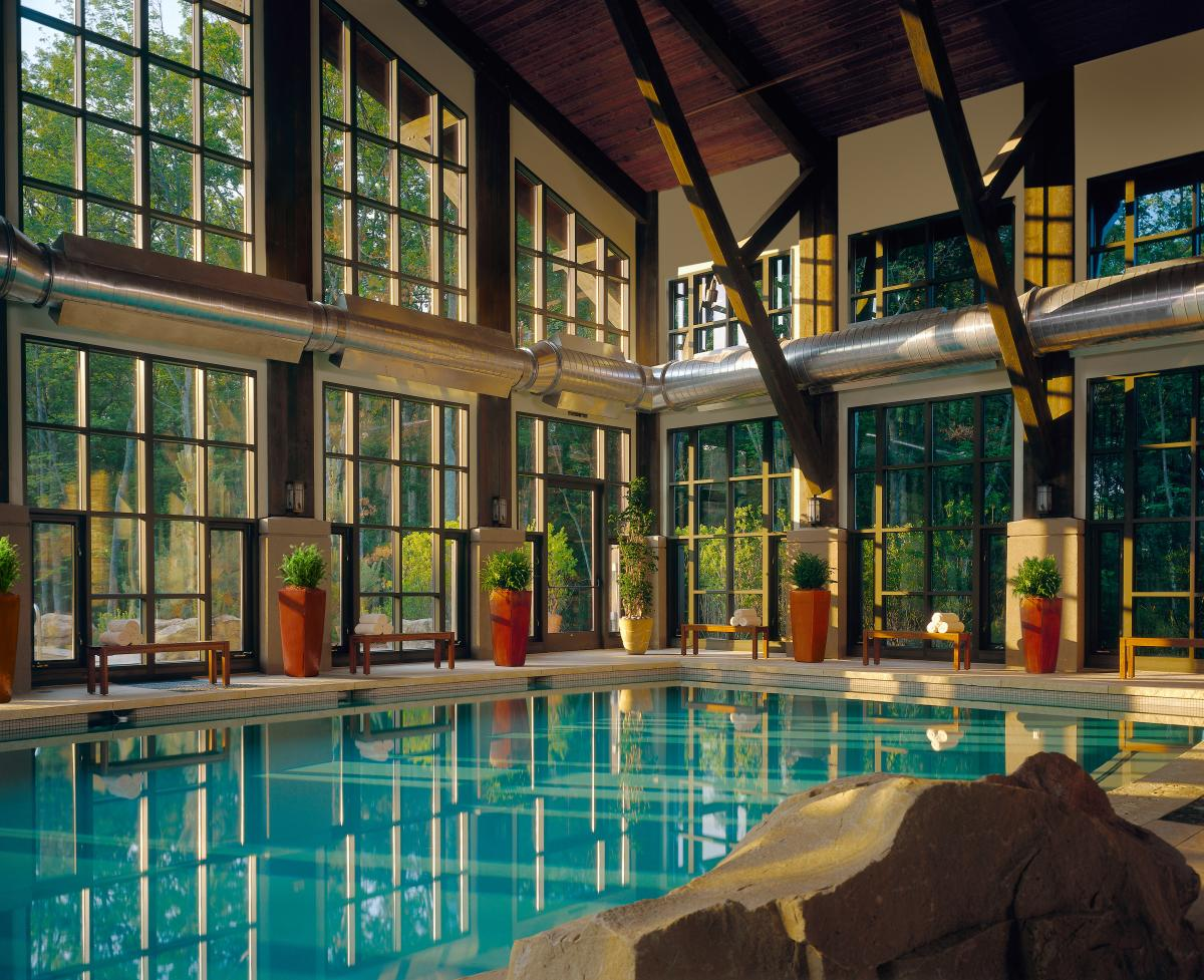 Spas in the Pocono Mountains