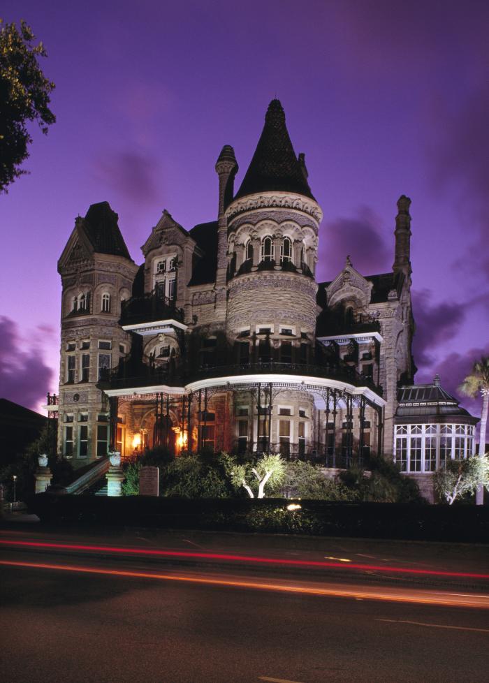 Halloweeen Houston Bishop's Palace Galveston