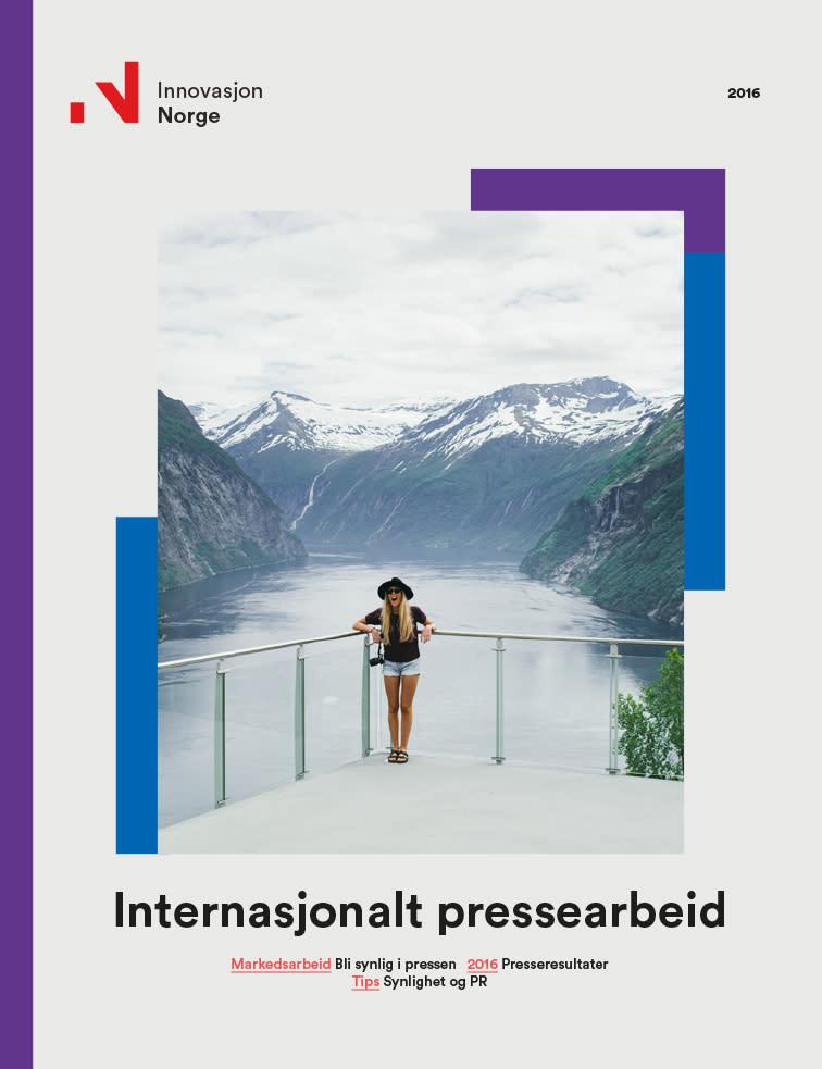 Internasjonalt pressearbeid 2016 rapport
