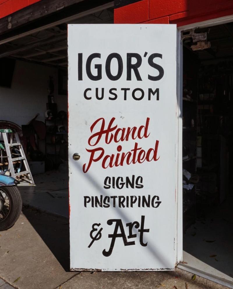 Igors Custom Signs