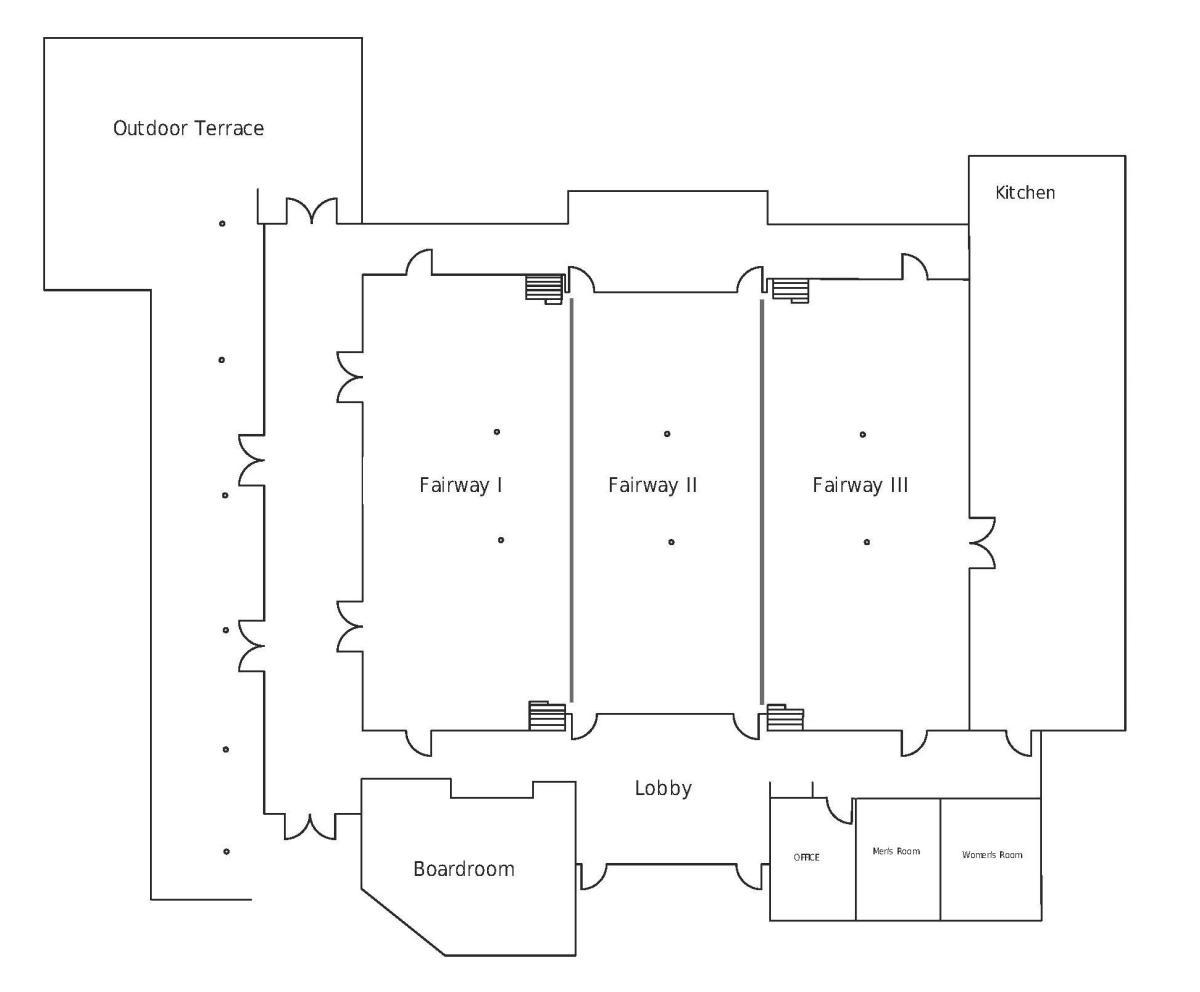 Concourse Floor Plan