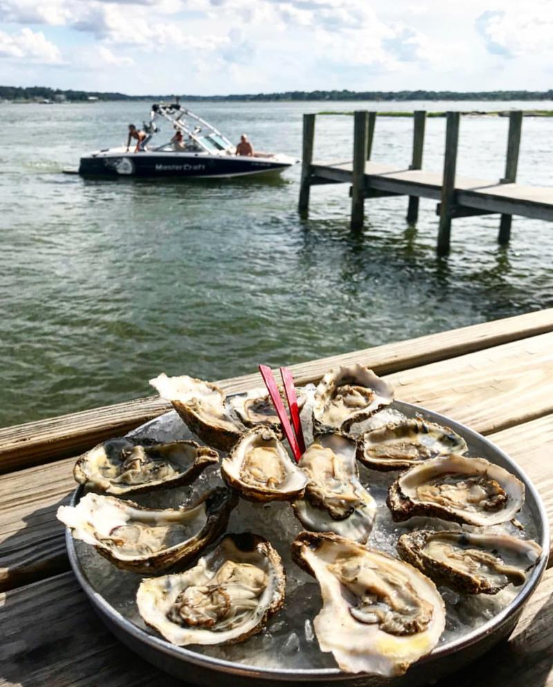 The Back Deck Oyster Water View