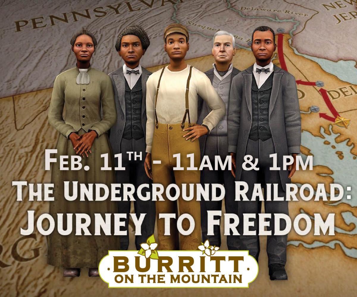 Burritt Underground Railroad Flyer