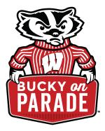 Bucky on Parade Logo
