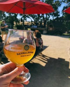 Pint of BarrelHouse Beer