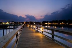 Murrells Inlet - Scenice Marsh Walk at Dusk