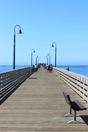 Cayucos Pier and Boardwalk