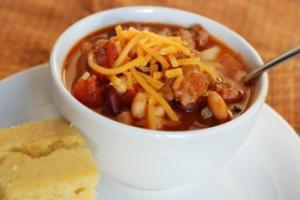 Recipe: Salty's Chef's Turkey Chili