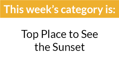 Top 8 Week 5 Category : Top Place to See the Sunset in Asheville