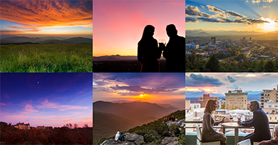 Top 8 Week 5: Sunsets in Asheville