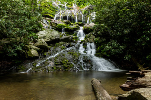 Catawba Falls is a great family hike.