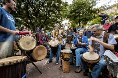 Mountain Sounds Story: Drum Circle
