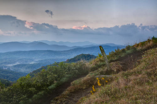 Max Patch Hike