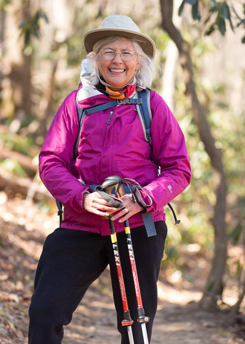 Danny Bernstein Hiking