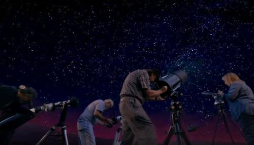 Stargazers near Asheville