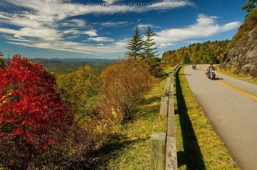 Blue Ridge Parkway early color