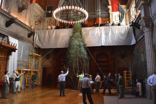 Biltmore Tree Raising 2016