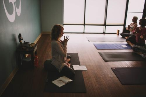 Yoga and Meditation at PeaceLab in Grand Rapids