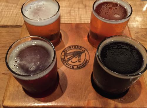 Rockford Brewing Beer Flight