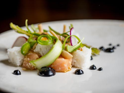 Dining Entree at Grove for Grand Rapids Restaurant Week