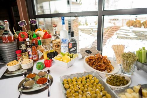 Build Your Own Bloody Mary Bar at Blue Water Grill in Grand Rapids
