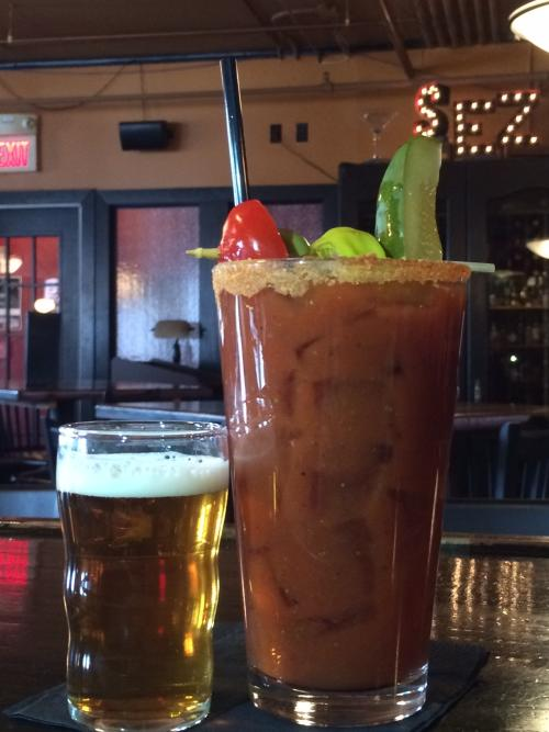 Bloody Mary at SpeakEZ Lounge in Grand Rapids
