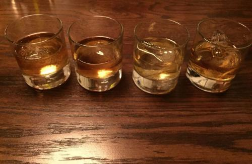 Butcher's Union whiskey flight