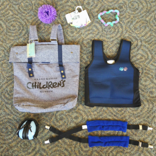 Grand Rapids Children's Museum sensory tool kit