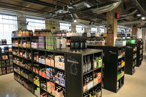 Craft Beer Cellar beer selection