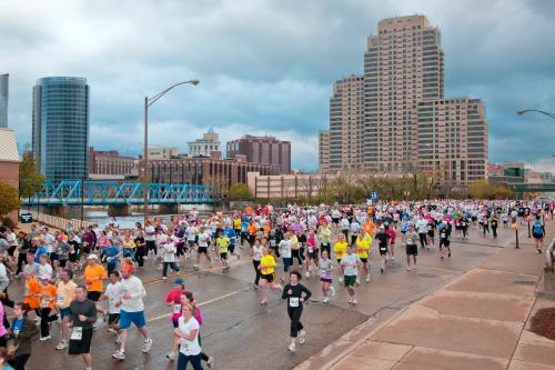 Fifth Third River Bank Run in Grand Rapids, Michigan
