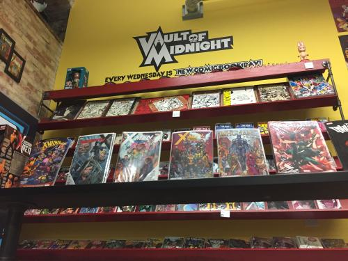 Comic Books in Vault of Midnight in Grand Rapids, Michigan
