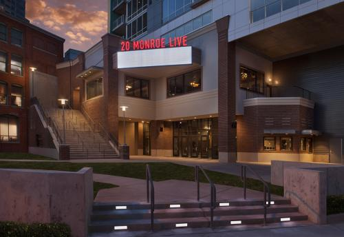 Exterior of 20 Monroe Live in Grand Rapids, Michigan