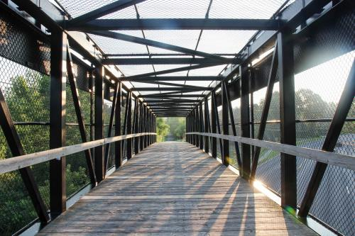White Pine Trail bridge in Grand Rapids