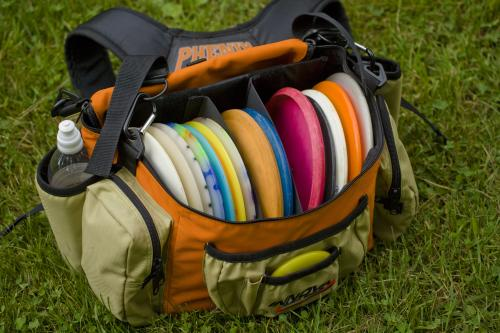 Johnson Park Disc golf bag in Grand Rapids