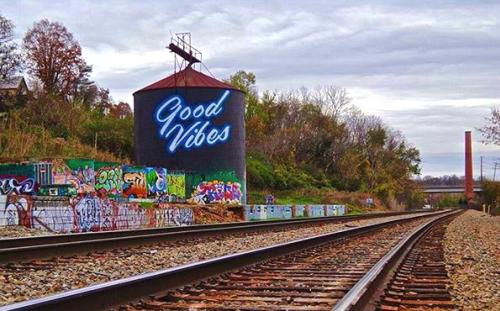 Good Vibes Mural