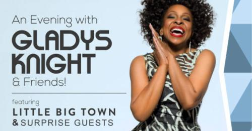 Gladys Knight Event Ad