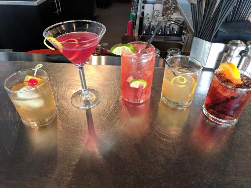 Ada Pour House Gastropub cocktails in Grand Rapids, Michigan