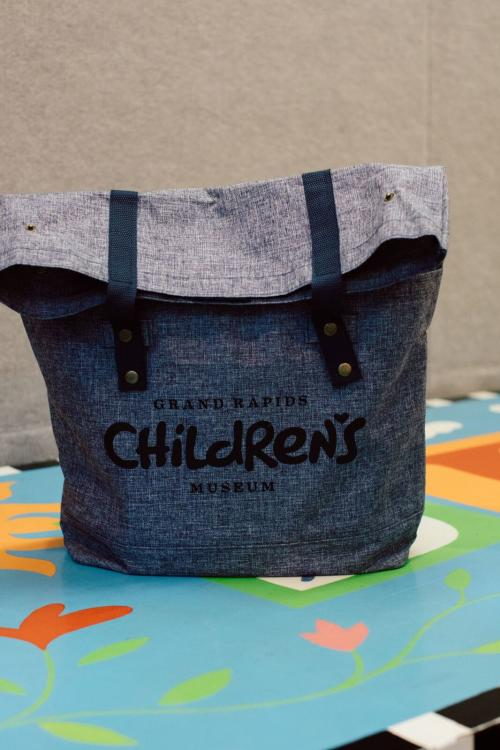 Grand Rapids Children's Museum Sensory Friendly Tool Kit bag