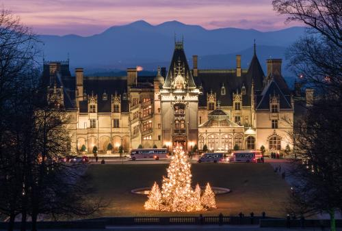 Biltmore Christmas Lights