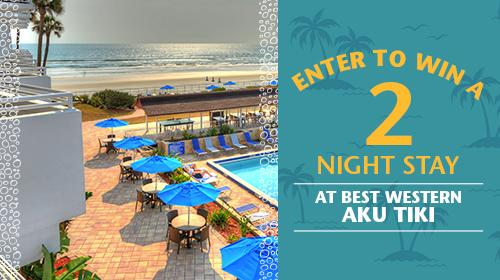 Enter to Win a 2 night stay at best western aku tiki