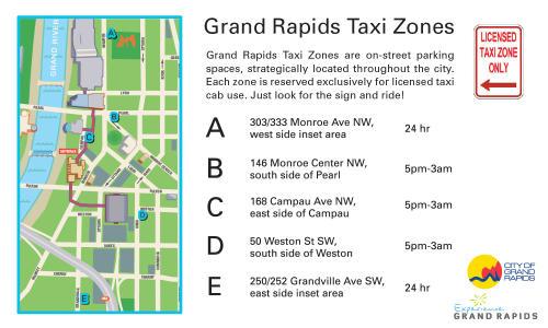 Grand Rapids Taxi Zones