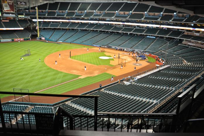 Houston Astros Baseball Field