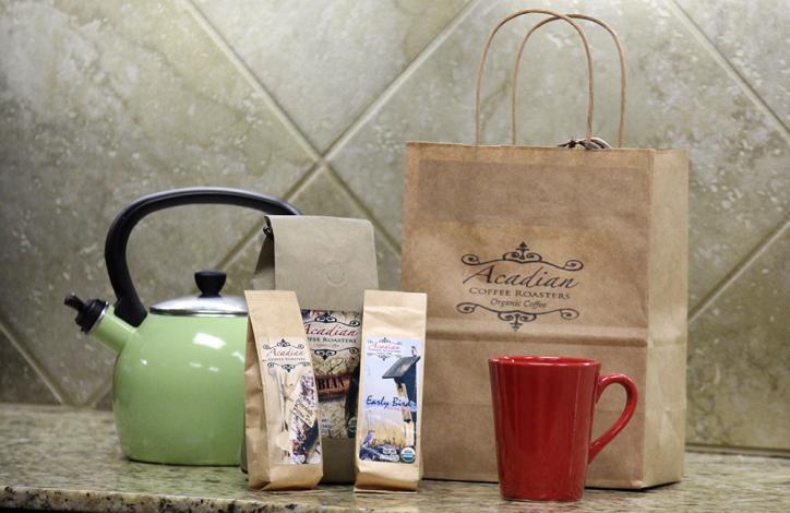 Acadian Roaster variouis blends of Coffee