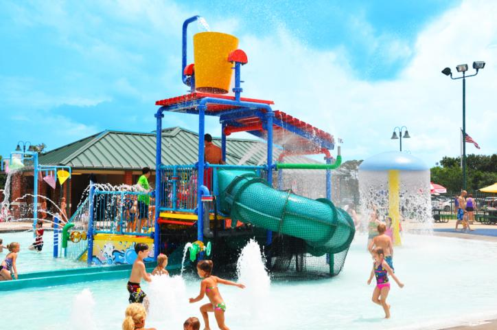 SPAR Waterpark slide